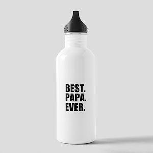 Best Papa Ever Sports Water Bottle