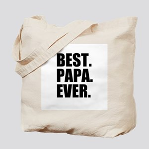 Best Papa Ever Tote Bag