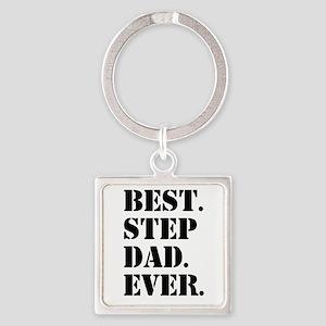 Best Step Dad Ever Keychains