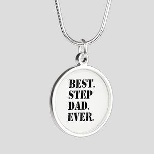 Best Step Dad Ever Necklaces