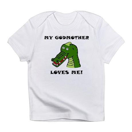My Godmother Loves Me Alligator Infant T-Shirt