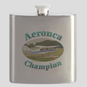 Aeronca Champ on floats Flask