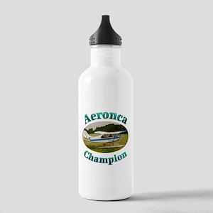 Aeronca Champ on floats Water Bottle