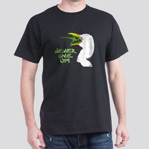Never Give Up Lizard Dark T-Shirt