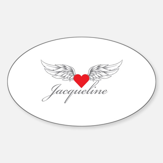 Angel Wings Jacqueline Decal