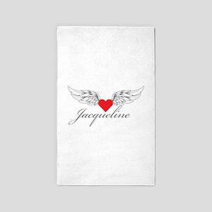 Angel Wings Jacqueline 3'x5' Area Rug
