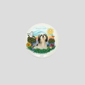 Happy Day - Shih Tzu (#4) Mini Button