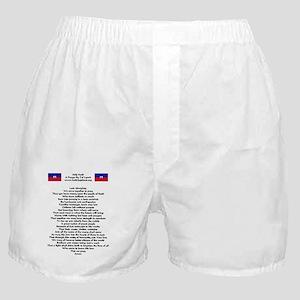 help_haiti_prayer_flags Boxer Shorts