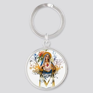 Immaculate Heart of Mary Keychains