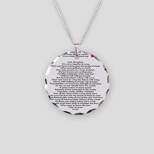 help_haiti_prayer_flags1024x Necklace Circle Charm