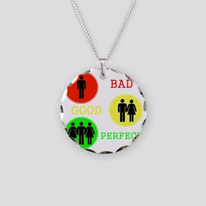 Threesome - FMF Necklace Circle Charm