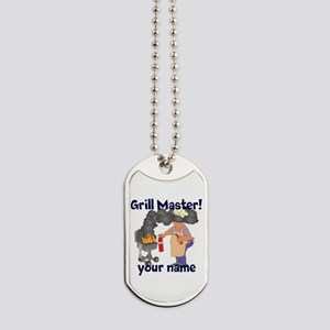Personalized Grill Master Dog Tags
