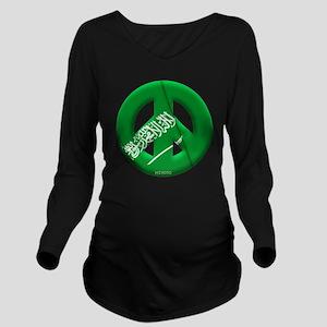 Saudi Arabia Long Sleeve Maternity T-Shirt