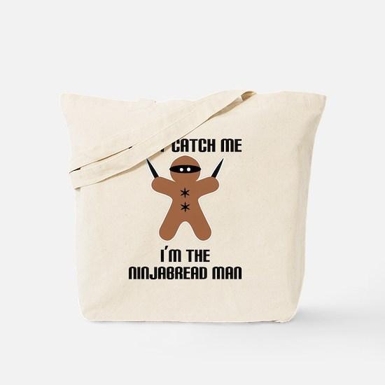 Ninjabread Man Tote Bag