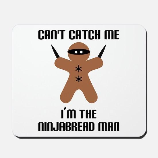 Ninjabread Man Mousepad