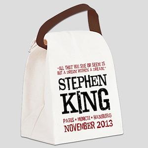 European Book Tour Canvas Lunch Bag