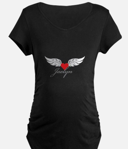 Angel Wings Jaelyn Maternity T-Shirt