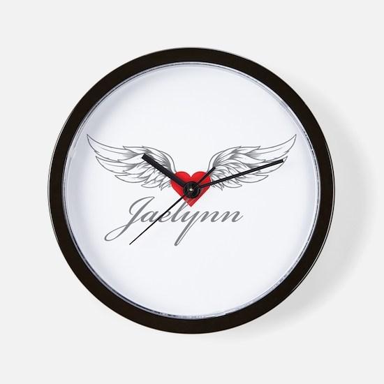 Angel Wings Jaelynn Wall Clock