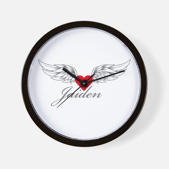Angel Wings Jaiden Wall Clock