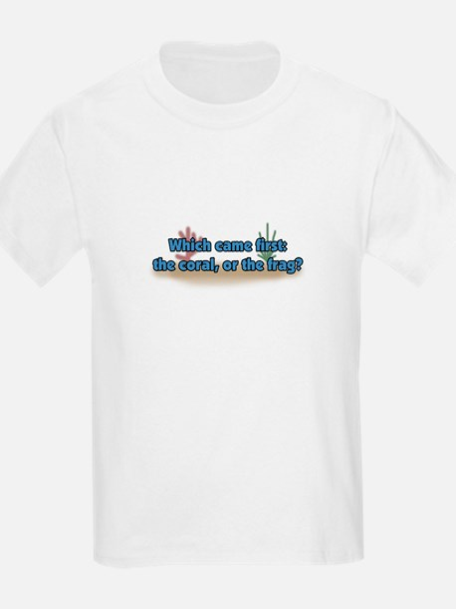 Coral or Frag Kids T-Shirt