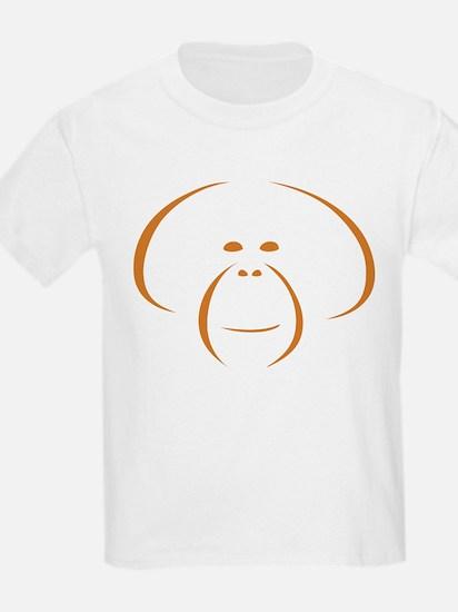 Orangutan Ssp Logo T-Shirt (orange Logo) T-Shirt