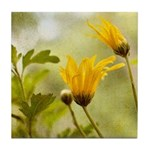 Spring Flowers Tile Coaster / Spoon Rest