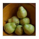 Artful Pears Tile Coaster / Spoon Rest