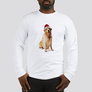 Santa Dog Long Sleeve T-Shirt