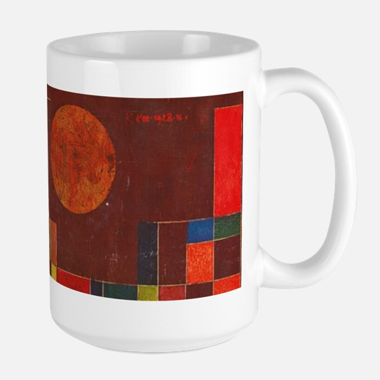 Castle and Sun by Klee Large Mug