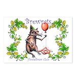 BrewRat Club Postcards (Package of 8)