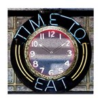 Time-To-Eat Tile Coaster / Spoon Rest