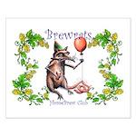 BrewRat HomeBrew Club Small Poster