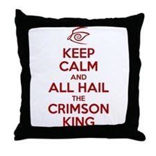 Keep Calm #1 Throw Pillow