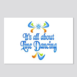 About Line Dancing Postcards (Package of 8)