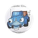 "Southside cruisers logo 3.5"" Button"