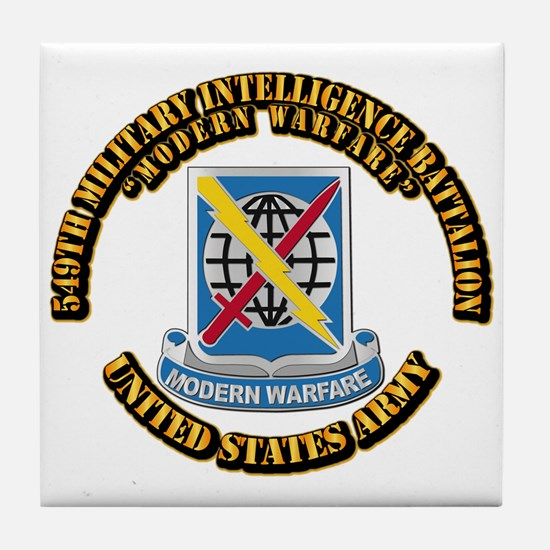 DUI - 549th Military Intelligence Bn With Text Til