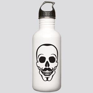hipster scull with mus Stainless Water Bottle 1.0L