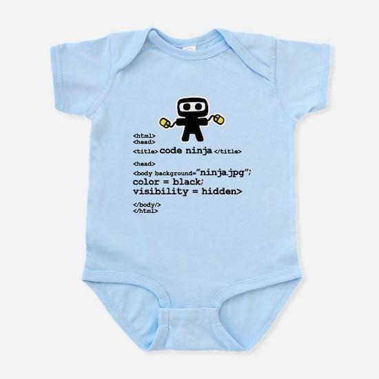 I code like a ninja Body Suit