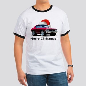 BabyAmericanMuscleCar_F02_68_Chevelle_Xmas_Red T-S