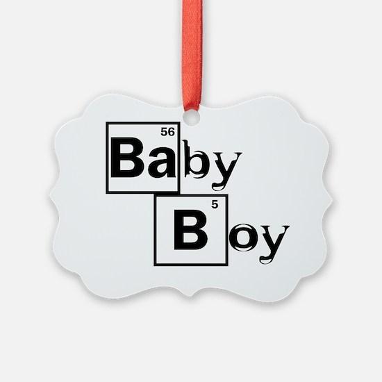 Breaking Bad Baby Boy Black Ornament