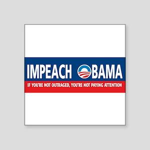 nobumper-impeach Sticker