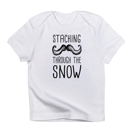 Staching Through the Snow Infant T-Shirt