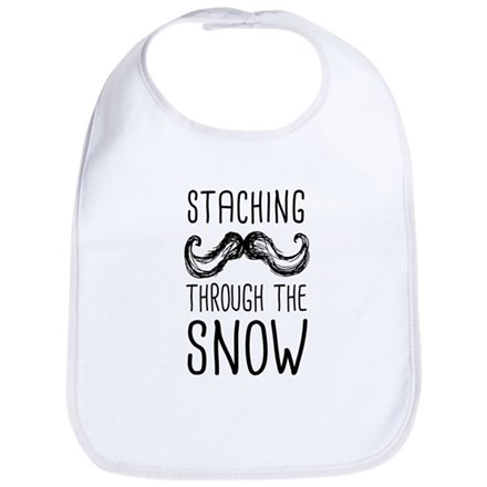 Staching Through the Snow Bib