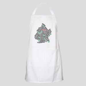 Brooklyn NYC Typography Art Apron