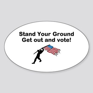 Your Vote is your weapon Sticker