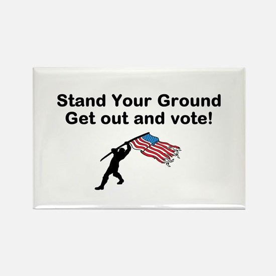 Your Vote is your weapon Magnets
