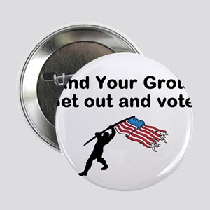 """Your Vote is your weapon 2.25"""" Button"""