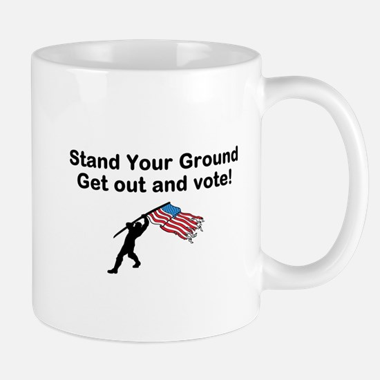Your Vote is your weapon Mugs