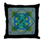 Celtic Square Throw Pillow