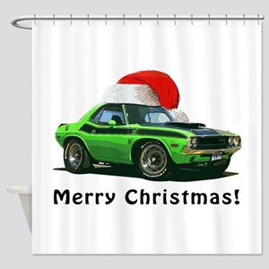 BabyAmericanMuscleCar_70_chal_xmas-green Shower Cu